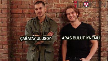 Çağatay Ulusoy ve Aras Bulut İynemli birbirleriyle röportaj yaparsa!