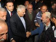 Başbakan Yıldırım, baba ocağı Kayı köyüne gitti