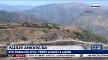 İçişleri Bakanlığı, 22 ilin valisini Ankara'ya çağırdı