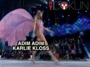 Karlie Kloss'un Victoria's Secret 'adımları'