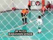 Alex de Souza'nın oğlundan süper gol
