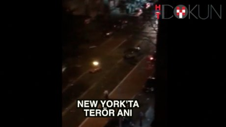 New York'ta patlama anı: 29 yaralı