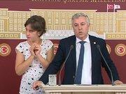 CHP'li vekil otizmli kızıyla Meclis'te basın toplantısı düzenledi