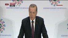 Cumhurbaşkanı Erdoğan, BM Mülteciler Zirvesi'nde konuştu