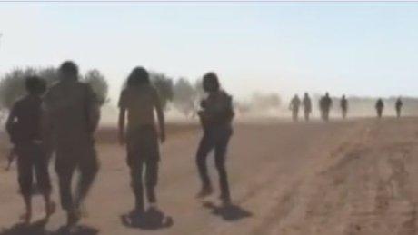 ÖSO'nun IŞİD'ten aldığı beş köy görüntülendi!