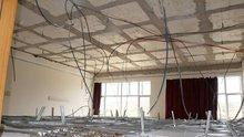Derste sınıfın tavanı çöktü: 5 yaralı