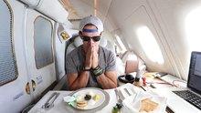 21 Bin dolarlık first class uçak yolculuğu
