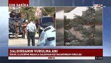 İsrail Büyükelçiliği'ne saldırı girişimi