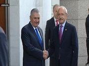 Başbakan Binali Yıldırım, Kemal Kılıçdaroğlu ile bir araya geldi