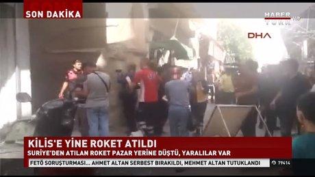 KİLİS'E ROKET ATILDI