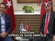 Erdoğan Çipras'ı kabul etti