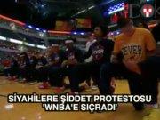 WNBA'de milli marşlı protesto