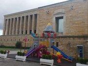 Anıtkabir'in bahçesine oyun parkı yapıldı