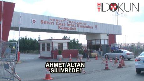 Tutuklanan Ahmet Altan cezaevine getirildi