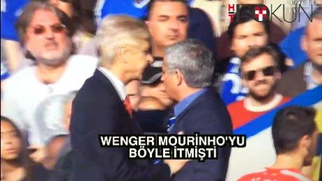 Wenger Mourinho'yu böyle itmişti