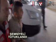 Şemsiyeli saldıgan tutuklandı