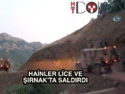 Teröristler Lice ve Şırnak'ta saldırdı: 2 şehit