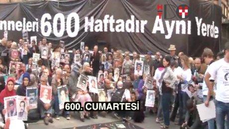İstiklal'de 600. Cumartesi