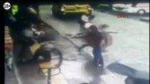 Rize'de cinayet anı kameraya yansıdı
