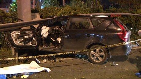 Bağcılar'da feci kaza: 1 ölü