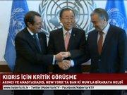Kıbrıs için kritik görüşme