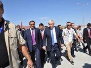İngiltere Dışişleri Bakanı Boris Johnson Nizip Konteyner Kentte