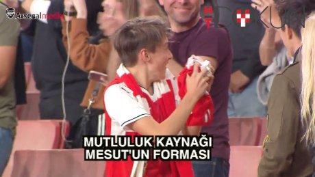 Mesut Özil'in bir forması nelere kadir!
