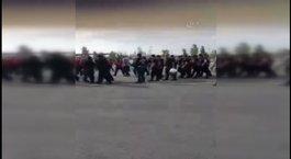 Eskişehirspor taraftarı ikinci şoku maç girişinde yaşadı