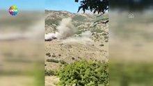 Van'da gasp ettikleri araca bomba yüklemişler