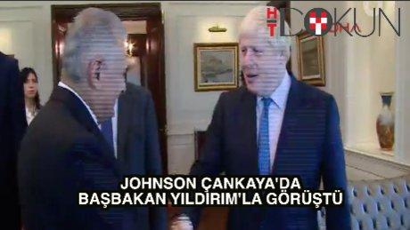 Başbakan Yıldırım Johnson ve UETD heyetini kabul etti