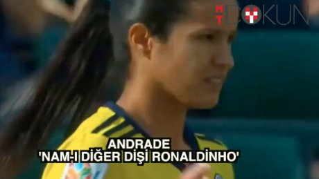 Antalya'ya 'dişi Ronaldinho'