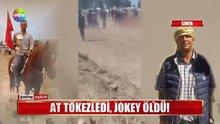 İzmir'de atın altında kalan jokey hayatını kaybetti