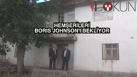 Çankırılı hemşehrileri Boris Johnson'ı bekliyor