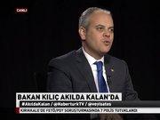Gençlik ve Spor Bakanı Akif Çağatay Kılıç Habertürk TV'de - 2.Bölüm