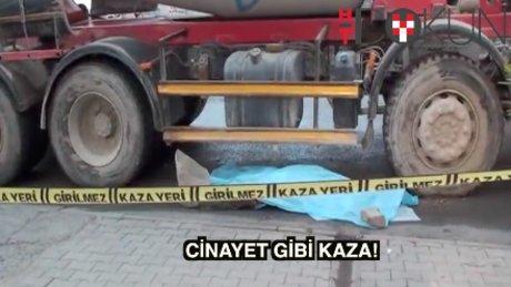 Cinayet gibi kaza: Temizlik işçisi öldü
