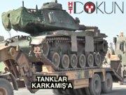 Fırat Kalkanı'na 38. günde tank desteği