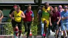 Usain Bolt'un en rahat yarışı