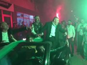 Down sendromlu Bursaspor amigosuna kutlama
