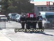 Şırnak'ta şehit köy korucusu için tören