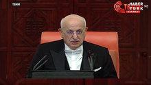 TBMM Başkanı Kahraman açılış konuşmasını yaptı