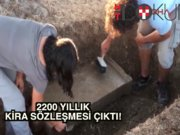 2200 yıllık kira sözleşmesi