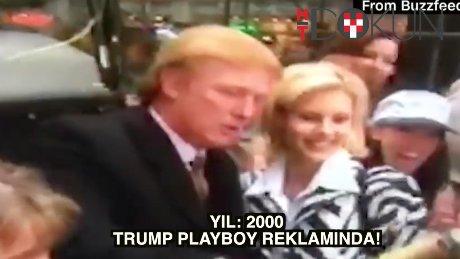 İşte Trump'ın Playboy reklamı
