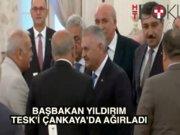 Başbakan Yıldırım'dan TESK'e işbirliği çağrısı