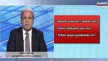 Şamil Tayyar'dan çarpıcı açıklamalar