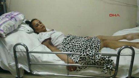 Mide küçültme ameliyatı olan genç kadın yaşam mücadelesi veriyor