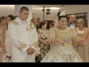 680 Bin tl'lik gelinlik giyen Slovakyalı Evka