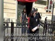 Radyocu Cem Arslan'ı bıçaklayan kadın adliyeye sevkedildi