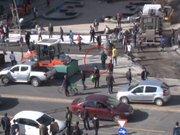 Erzurum'da iki grup arasına kürekli, bıçaklı kavga