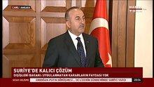 Dışişleri Bakanı Çavuşoğlu'ndan Irak açıklaması