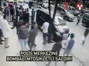 Yenibosna 75. Yıl Polis Merkezi yakınında patlama